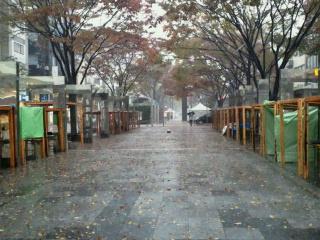 ストフェス一日目は雨天中止