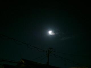満月の中秋の名月